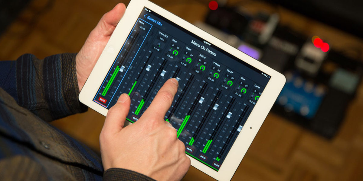 Remotely control monitor mixes with the new VENUE | On-Stage iOS app—get it now